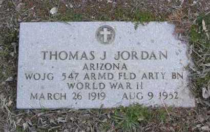 JORDAN, THOMAS J. - Yavapai County, Arizona | THOMAS J. JORDAN - Arizona Gravestone Photos