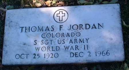 JORDAN, THOMAS F. - Yavapai County, Arizona | THOMAS F. JORDAN - Arizona Gravestone Photos