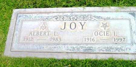 JOY, ALBERT LEWIS - Yavapai County, Arizona   ALBERT LEWIS JOY - Arizona Gravestone Photos