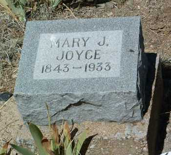 JOYCE, MARY JANE - Yavapai County, Arizona | MARY JANE JOYCE - Arizona Gravestone Photos