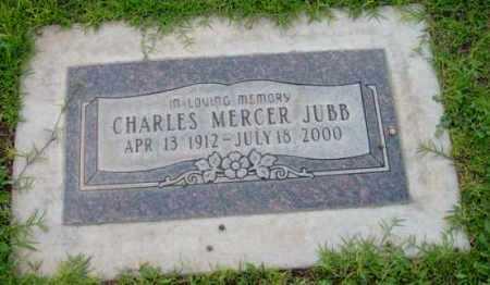 JUBB, CHARLES MERCER - Yavapai County, Arizona | CHARLES MERCER JUBB - Arizona Gravestone Photos