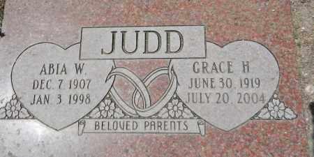 JUDD, GRACE H. - Yavapai County, Arizona   GRACE H. JUDD - Arizona Gravestone Photos