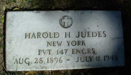 JUEDES, HAROLD HENRY - Yavapai County, Arizona | HAROLD HENRY JUEDES - Arizona Gravestone Photos