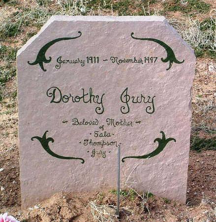 JURY, DOROTHY J. - Yavapai County, Arizona | DOROTHY J. JURY - Arizona Gravestone Photos
