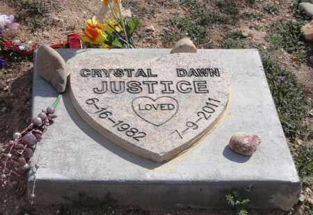 EVANS JUSTICE, CRYSTAL D. - Yavapai County, Arizona | CRYSTAL D. EVANS JUSTICE - Arizona Gravestone Photos