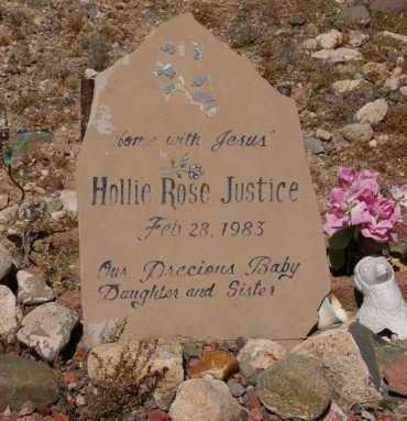 JUSTICE, HOLLIE ROSE - Yavapai County, Arizona | HOLLIE ROSE JUSTICE - Arizona Gravestone Photos