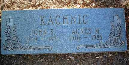 KACHNIC, AGNES M. - Yavapai County, Arizona | AGNES M. KACHNIC - Arizona Gravestone Photos