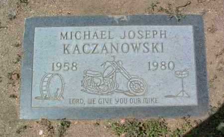 KACZANOWSKI, MICHAEL JOSEPH - Yavapai County, Arizona   MICHAEL JOSEPH KACZANOWSKI - Arizona Gravestone Photos