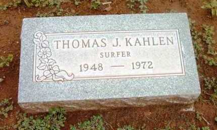 KAHLEN, THOMAS JOHN - Yavapai County, Arizona | THOMAS JOHN KAHLEN - Arizona Gravestone Photos