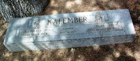 KALEMBER, ELVA M. - Yavapai County, Arizona | ELVA M. KALEMBER - Arizona Gravestone Photos