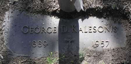KALESONIS, GEORGE D. - Yavapai County, Arizona | GEORGE D. KALESONIS - Arizona Gravestone Photos