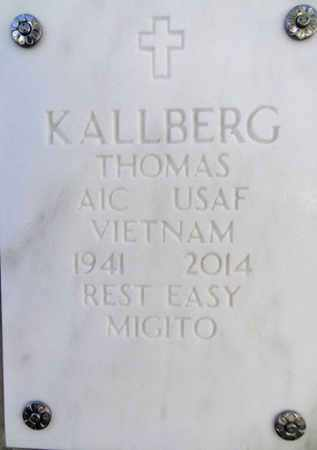 KALLBERG, THOMAS T. - Yavapai County, Arizona | THOMAS T. KALLBERG - Arizona Gravestone Photos