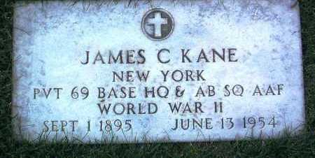 KANE, JAMES C. - Yavapai County, Arizona   JAMES C. KANE - Arizona Gravestone Photos