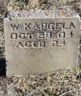 KARGELA, WILLIAM - Yavapai County, Arizona   WILLIAM KARGELA - Arizona Gravestone Photos