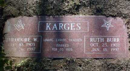 KARGES, RUTH - Yavapai County, Arizona | RUTH KARGES - Arizona Gravestone Photos