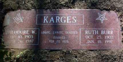 KARGES, THEODORE WILLIAM - Yavapai County, Arizona | THEODORE WILLIAM KARGES - Arizona Gravestone Photos