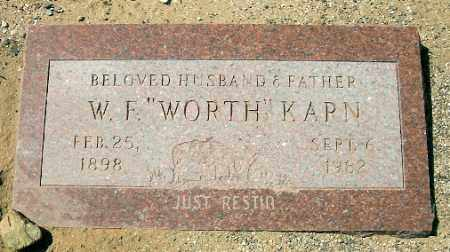 KARN, WORTHINGTON FITZHUGH - Yavapai County, Arizona | WORTHINGTON FITZHUGH KARN - Arizona Gravestone Photos