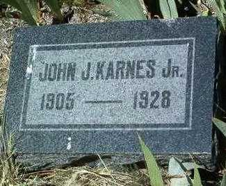 KARNES, JOHN JOSEPH, JR. - Yavapai County, Arizona | JOHN JOSEPH, JR. KARNES - Arizona Gravestone Photos