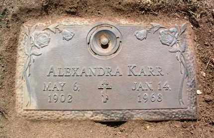 KARR, ALEXANDRA - Yavapai County, Arizona   ALEXANDRA KARR - Arizona Gravestone Photos