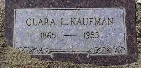 HARBERT KAUFMAN, CLARA - Yavapai County, Arizona | CLARA HARBERT KAUFMAN - Arizona Gravestone Photos