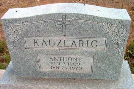 KAUZLARIC, ANTHONY - Yavapai County, Arizona   ANTHONY KAUZLARIC - Arizona Gravestone Photos