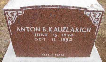 KAUZLARICH, ANTON B. - Yavapai County, Arizona | ANTON B. KAUZLARICH - Arizona Gravestone Photos