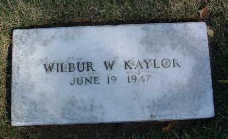 KAYLOR, WILBUR W. - Yavapai County, Arizona   WILBUR W. KAYLOR - Arizona Gravestone Photos