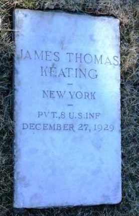 KEATING, JAMES THOMAS - Yavapai County, Arizona | JAMES THOMAS KEATING - Arizona Gravestone Photos