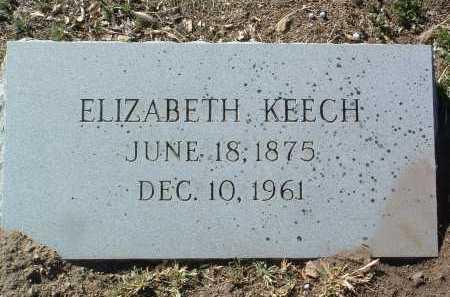 COULSTON KEECH, ELIZABETH - Yavapai County, Arizona | ELIZABETH COULSTON KEECH - Arizona Gravestone Photos