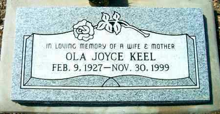WILLIAMS KEEL, OLA JOYCE - Yavapai County, Arizona | OLA JOYCE WILLIAMS KEEL - Arizona Gravestone Photos