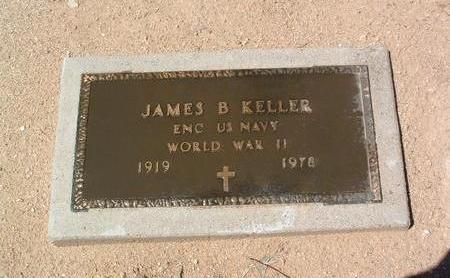 KELLER, JAMES B. - Yavapai County, Arizona | JAMES B. KELLER - Arizona Gravestone Photos