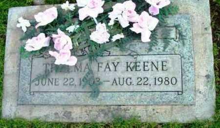 KEENE, THELMA FAY - Yavapai County, Arizona   THELMA FAY KEENE - Arizona Gravestone Photos