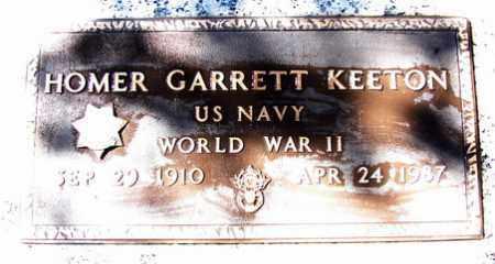 KEETON, HOMER GARRETT - Yavapai County, Arizona | HOMER GARRETT KEETON - Arizona Gravestone Photos