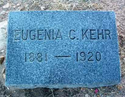 CHICK KEHR, EUGENIA SPAULDING - Yavapai County, Arizona   EUGENIA SPAULDING CHICK KEHR - Arizona Gravestone Photos