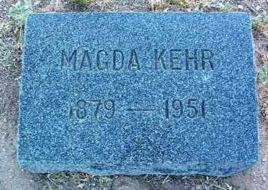 KEHR, MAGDA - Yavapai County, Arizona   MAGDA KEHR - Arizona Gravestone Photos