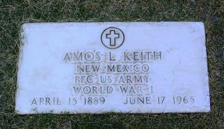 KEITH, AMOS  L. - Yavapai County, Arizona   AMOS  L. KEITH - Arizona Gravestone Photos
