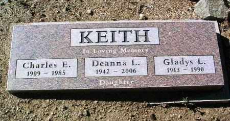 KEITH, GLADYS L. - Yavapai County, Arizona   GLADYS L. KEITH - Arizona Gravestone Photos
