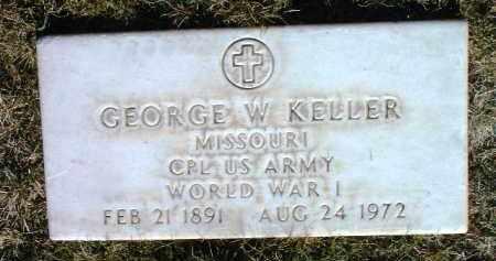 KELLER, GEORGE WESLEY - Yavapai County, Arizona | GEORGE WESLEY KELLER - Arizona Gravestone Photos
