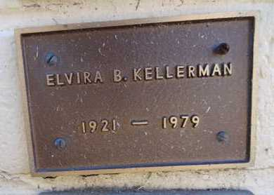 KELLERMAN, ELVIRA BEATRICE - Yavapai County, Arizona | ELVIRA BEATRICE KELLERMAN - Arizona Gravestone Photos