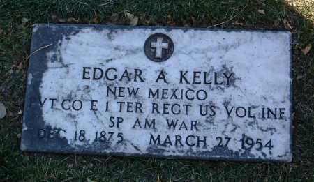 KELLY, EDGAR A. - Yavapai County, Arizona | EDGAR A. KELLY - Arizona Gravestone Photos