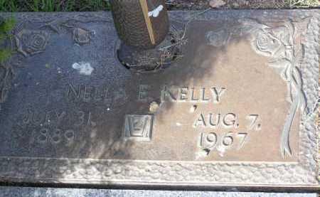 KELLY, NELLA E. - Yavapai County, Arizona   NELLA E. KELLY - Arizona Gravestone Photos