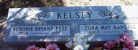 KELSEY, BENONIE BRYANT (PETE) - Yavapai County, Arizona | BENONIE BRYANT (PETE) KELSEY - Arizona Gravestone Photos