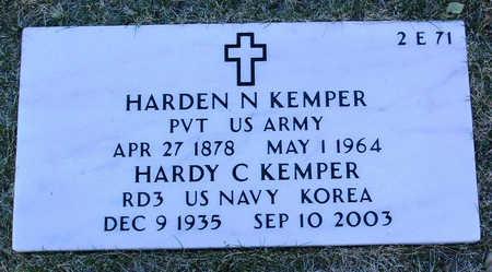 KEMPER, HARDEN COLLINS  (HARDY) - Yavapai County, Arizona | HARDEN COLLINS  (HARDY) KEMPER - Arizona Gravestone Photos