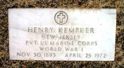 KEMPKER, HENRY - Yavapai County, Arizona | HENRY KEMPKER - Arizona Gravestone Photos