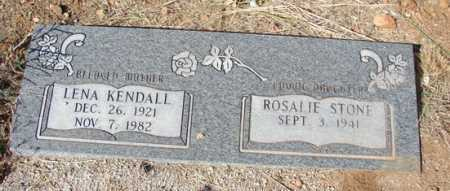 KENDALL, LENA - Yavapai County, Arizona | LENA KENDALL - Arizona Gravestone Photos