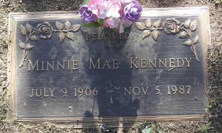 KENNEDY, MINNIE MAE - Yavapai County, Arizona | MINNIE MAE KENNEDY - Arizona Gravestone Photos