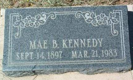 KENNEDY, MAE B. - Yavapai County, Arizona | MAE B. KENNEDY - Arizona Gravestone Photos