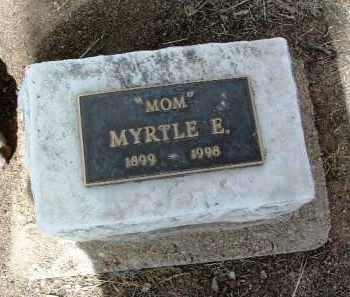 KENNEDY, MYRTLE E. - Yavapai County, Arizona | MYRTLE E. KENNEDY - Arizona Gravestone Photos