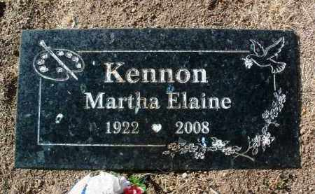 KENNON, MARTHA ELAINE - Yavapai County, Arizona   MARTHA ELAINE KENNON - Arizona Gravestone Photos