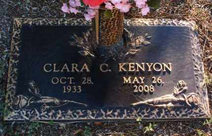 KENYON, CLARA C. - Yavapai County, Arizona | CLARA C. KENYON - Arizona Gravestone Photos